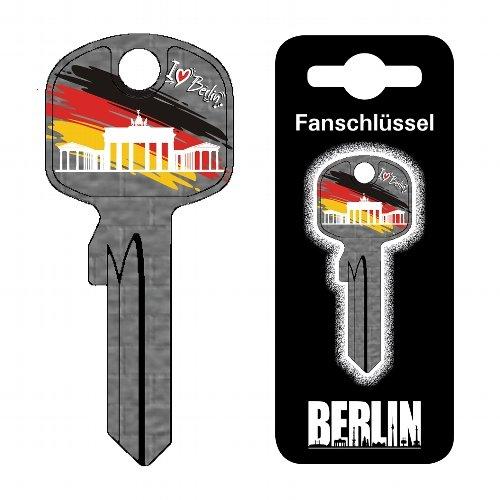 Fanschlüssel Schlüsselrohling Schlüsselanhänger Fanartikel Schlüsseldienst Berlin Brandenburger Tor