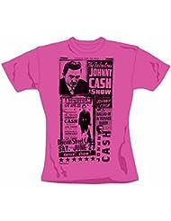 Johnny Cash - Show Girlie Shirt