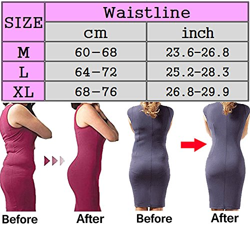 DODOING Frauen Body Shaper Thong Abnehmen Hohe Taille Taille Cincher Gürtel Shapewear Schlüpfer Slips Beige