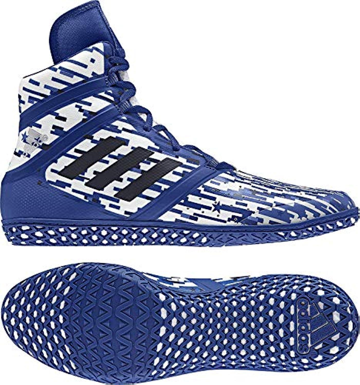 Adidas Adidas Adidas Impact Men's Wrestling scarpe, Royal Digital Print, Dimensione 4.5 | Bel design  4e818d