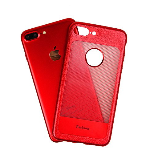 Cover iPhone 7, WindTeco Custodia TPU Moda Elegante Case Cover Soft Silicone Back Cover Protezione Bumper Shell Flessible TPU Cover per Apple iPhone 7 Blu