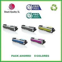 DQ CF350A, BDQ+DQ CF351A+DQ CF352A+DQ CF353A Pack Ahorro 5 Toner Toner sustituyen HP 130A