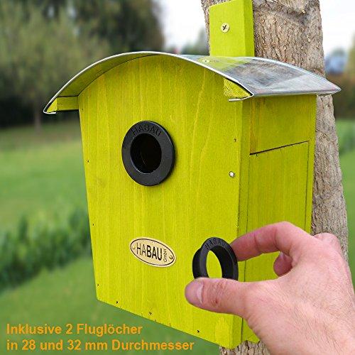 Habau 2962 Nistkasten Runddach - 2