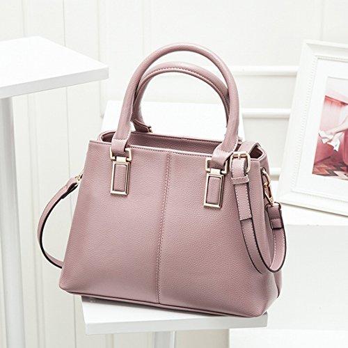 Weibliche Ol Commuter Schale Dai Fei Tasche Schulter Schrägen Quer Style Tragbaren Damen Tasche Rosa