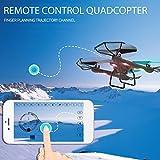 Anyutai AG-01 One-Touch-Return-Fernbedienung Flugzeug-Drohne,Beständig gegen Crash-Speed-Schalter Ein Schlüssel entfernen Drohne mit Headless-Modus für Anfänger