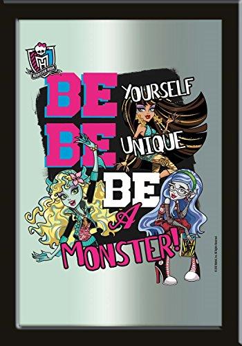 p:os 22676 - High Motivspiegel mit Aufhänger, Be a (Up Monster High Make Draculaura)