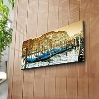 لوحة ديكور قماشية من جلد الغزال 100%، المقاس: 30 × 70 سم - صنع في تركيا