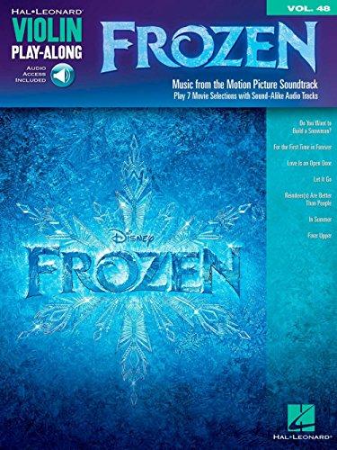 Violin Play-Along Volume 48: Frozen