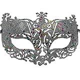RXBC2011 1PCS Lace Masquerade Maske Damen Maskenspiel Frauen Sexy Augenmaske Venetian Gesichtsmaske Karneval Maskerade für Hallween Weihnachten Party