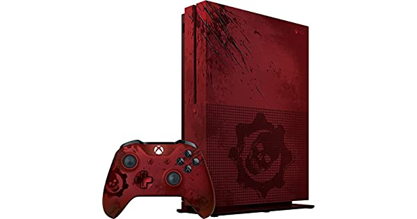 Xbox one s tb console gears of war limited edition bundle
