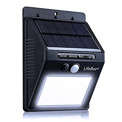 Outdoor Solar Wall Light produced by Holabuyer - quick delivery from UK.