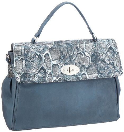 Betty Barclay Clara D-268 CL 29, Damen Umhängetaschen 38x27x16 cm (B x H x T) Blau (Blue)