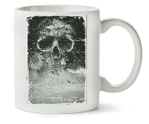 MugWorld Artistic Skull Death In The Smoke Horror Collection Nice to Klassische Teetasse Kaffeetasse