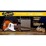 Stop Dreaming Start Playing Affinity Jazz Bass Fender Rumble 15 Brown Sunburst