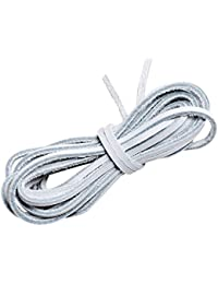 Lify White color leather shoe laces/Leather string, available in 60CM, 80CM, 100CM, 120CM and 150CM