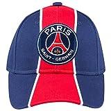 Paris Saint-Germain Baseball-Cap / Fankappe, offizielle Kollektion des Fußballvereins, verstellbare Größe, für Kinder