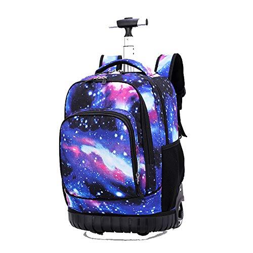 Zaino per laptop, trolley per trolley, borsa per scuola - 4 colpi-6