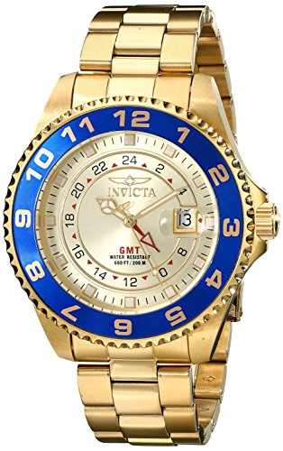 Invicta 17153 Pro Diver Men's Wrist Watch Stainless Steel Quartz Champagne Dial