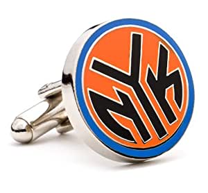 Sports Logo Cufflinks NBA Basketball New York Knicks Cuff Links