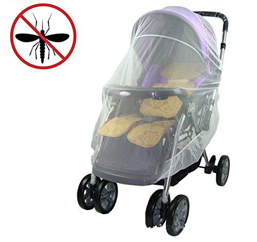 Mosquitera para Cochecito Bebé, Red Antiinsectos Universal de Bebe Seguro Malla Abeja Cubierta Protección Ideal Contra Avispas, Insectos y Mosquitos, Resistente y Lavable