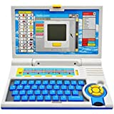 GANESH Blue English Learner Education Laptops For Kids