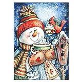 semen Weihnachtdeko Weihnachten Diamant Painting Santa Claus Schneemann Weihnachtsbilder Feierlich Geschenk Wanddeko Gemälde 5D DIY Malerei Christmas Geschenkidee