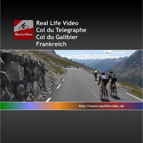 Real Life Video - Col du Galibier (für Tacx, Daum, Kettler, CycleOps und Cyclus 2) - 2
