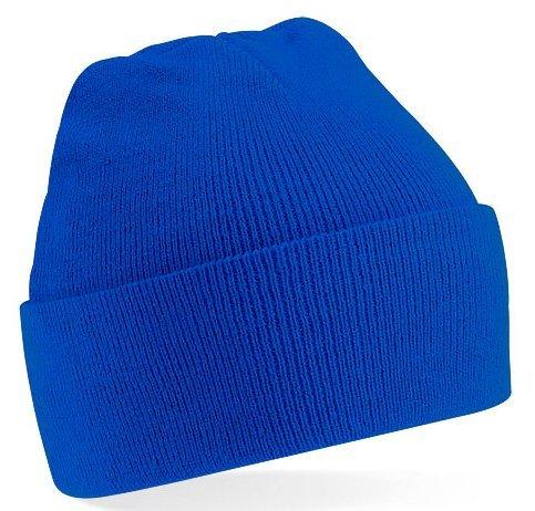 Beechfield Strickmütze, verschiedene Farben Royalblau (Blaue Mütze)