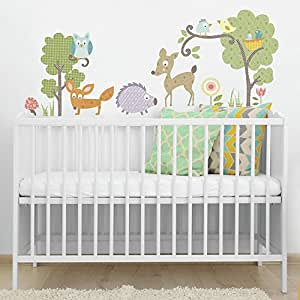 RoomMates 54197 Waldtiere 2