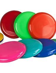 SchwabMarken 10 Frisbee Disc/Frisbee/Fresbee disco da lanciare in diversi colori Non adatto come frisbee per cani!!