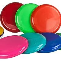 5 Frisbee o discos voladores - De diferentes colores