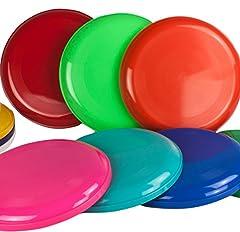 Idea Regalo - 5 Frisbee Disc / Frisbee / Fresbee disco da lanciare in diversi colori Non adatto come frisbee per cani!!
