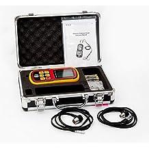 GM100 LCD Digital Ultrasónico Medidor Ultrasónico de Espesor Medidor de Velocidad del Calibrador + Medidor de Sonido Rango 1.2 ~ 220 mm Metal Wave