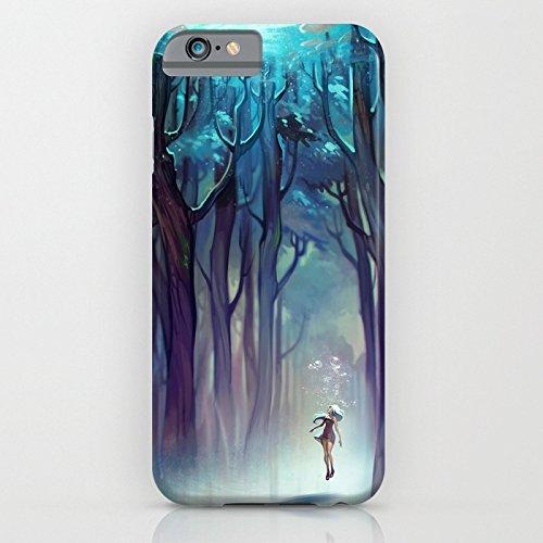 Cover iPhone 6s,TPU Gel Silicone Protettivo Skin Custodia Protettiva Shell Case Cover Per Apple iPhone 6 6S-Galassia girl