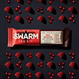SWARM Protein - Der Insektenriegel - Red Berries (20 x 33g) - 20%...