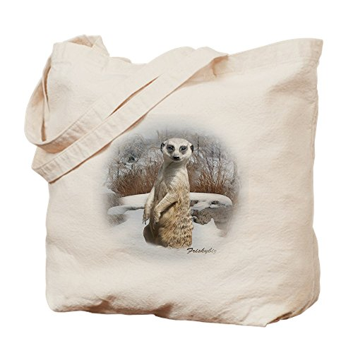 CafePress Damen Handtasche Tote Bag Tag Rodelschlitten Snow Erdmännchen - Meerkats -...