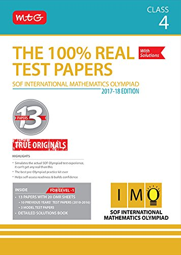 The 100% Real Test Papers (IMO) Class 4
