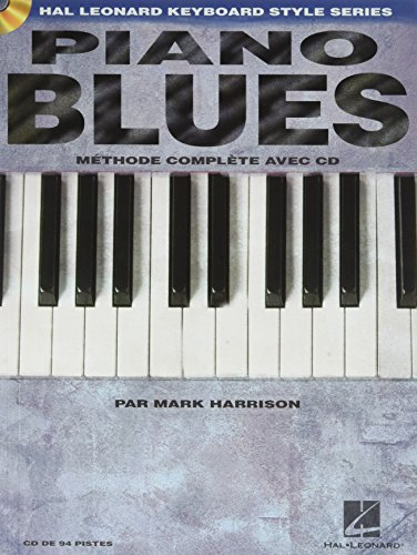Piano Blues Méthode complete avec CD