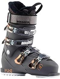 Rossignol Botas de esquí Pure Pro Rental–Graphite Mujer–Mujer–Talla 422/3–Negro, Color Negro, tamaño 25