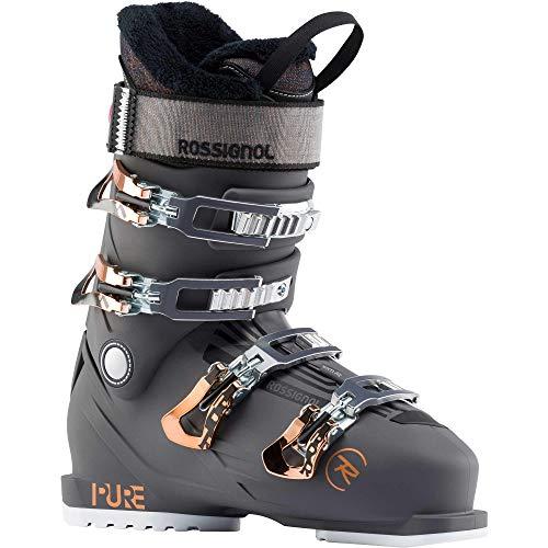 Rossignol Damen Skischuhe Pure Pro Rental, Graphit, Größe 42 2/3, Schwarz, Schwarz, 26.5