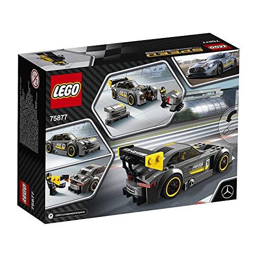 LEGO Speed Champions Mercedes-AMG GT3 196pieza(s) juego de construcción - juegos de construcción (Multicolor, 7 año(s), 196 pieza(s), 14 año(s), 6 cm, 16 cm)