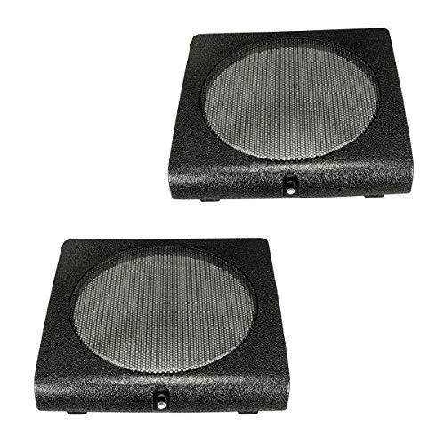 tomzz Audio 2857-015 Lautsprecher Gitter Grill Türtasche passend für VW Golf 2 II, Jetta 2 II, schwarz
