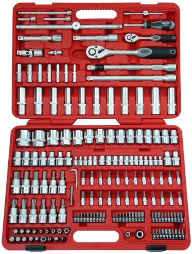 Famex 525-20 Coffret de clés à cliquet fine denture 174 pièces 12,5 mm (1/2\