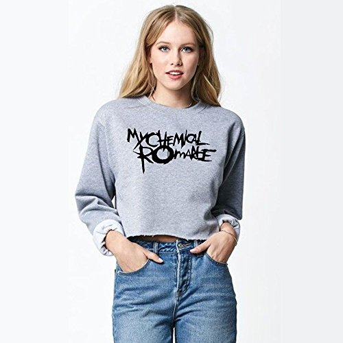 Inspired My Chemical Romance Rock King Music Band Crop Top For Women