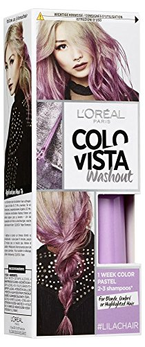 L'Oréal Paris Colovista 2-Week Washout #LILACHAIR, Haarfarbe, auswaschbar nach 2-3 Haarwäschen, in frechem Lila, DOITYOURWAY (Haarfarben-highlights)
