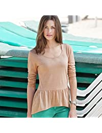 Tee shirt peplum manches longues 3suisses