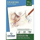 Canson Dibujo - Bloc de papel para dibujo, A4 - 21 x 29.7 cm