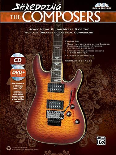 Shredding the Composers     Guitar     Book, CD & DVD (Shredding Styles)