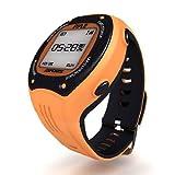 Pyle PSGP310OR - Reloj con deportivo GPS, color naranja, talla S