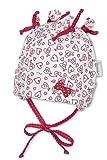 Sterntaler Jerseymütze Mädchen Babymütze rot/weiss 1401461 (35)